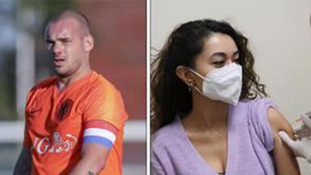 Wesley Sneijder aşı olmamakta diretiyor. Savunması ise şaşırttı